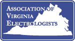 Association of Virginia Electrologists Logo