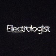 Rhinestone Electrologist Pin