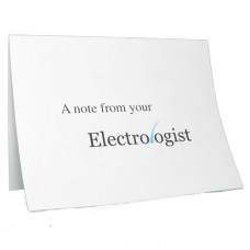 Electrologist Logo Note Cards