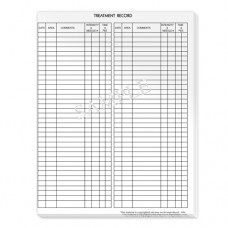 Treatment Record Pad