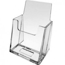Lucite Vertical Business Card Holder