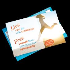 Live Free Postcard Mailing - 5.5 x 8.5